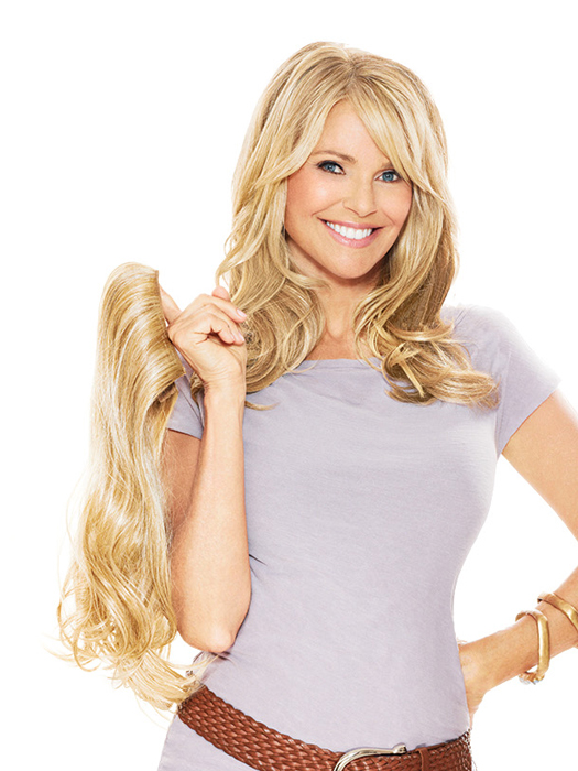 "16"" Clip-in Hair Extension by Christie Brinkley"