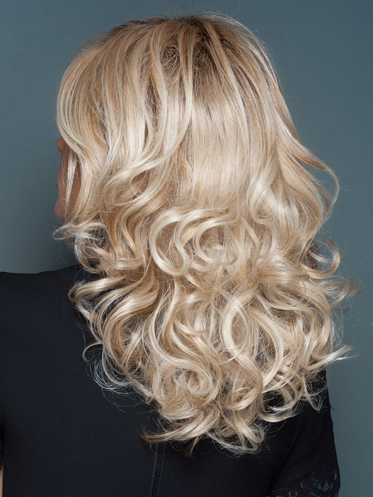 Long curls are ready-to-wear and can be heat styled | Color: RL19/23SS