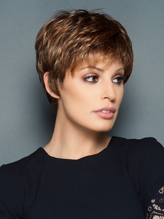 Face framing fringe provides full coverage | Color: SS8/29
