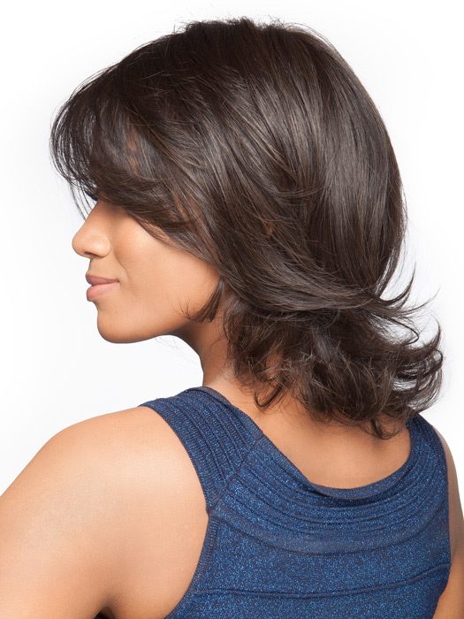 Styled out of the box | You can add curl or straighten it with a flat iron | RL2/4