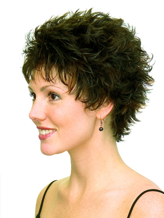 Amie Wig by Aspen Wigs : Boycut with Spiky Layers | Color 2/30H
