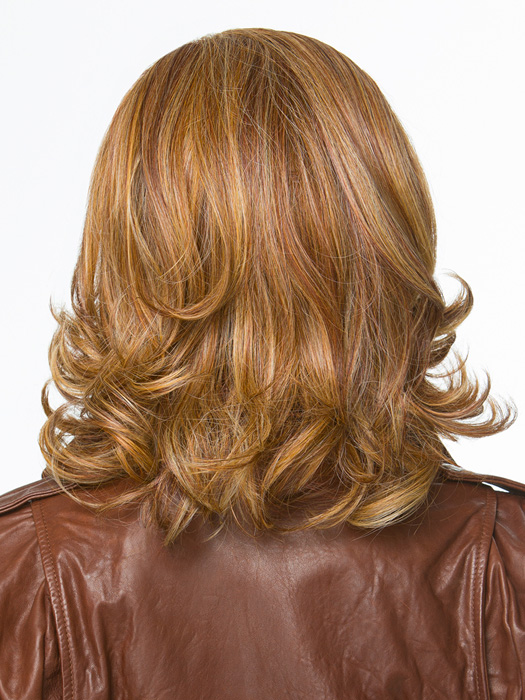 The Excelle® heat-friendly synthetic hair can be styled with heat tools