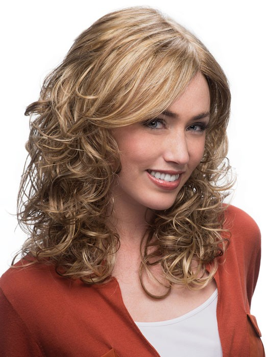 Felicity Wig by Estetica Designs Wigs : Front View | Color RH12/26RT4