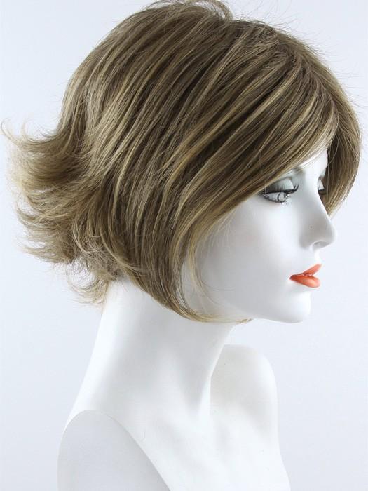 Envy Angie Wig Short Lace Front Monofilament Top Bob Cut