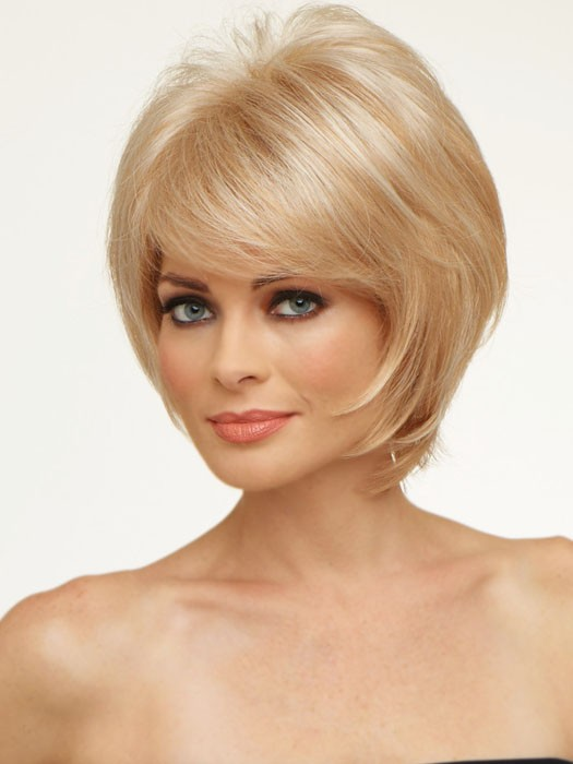 Envy Wigs Kellie Wig : Razored Bob Cut | Color LIGHT BLONDE