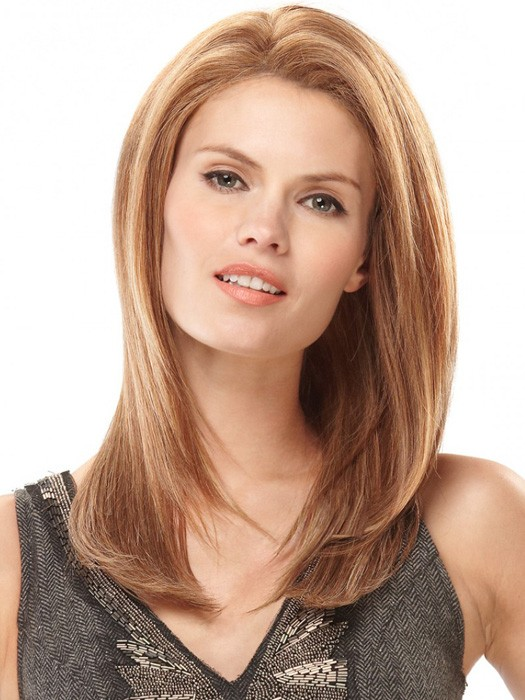 Kate by Jon Renau: Color FS27 |  Hair has been straightened, as the wig is pre-permed.