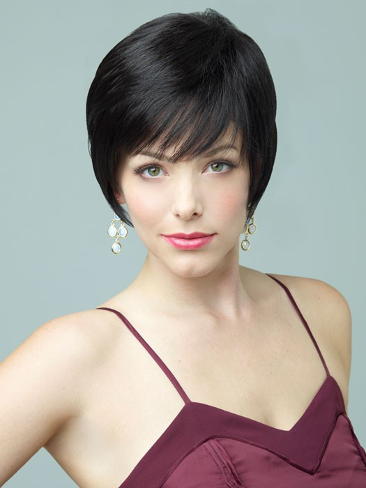 Sasha Wig by Revlon Wigs - Pixie Cut | Color 4/6R (Coffee Bean)