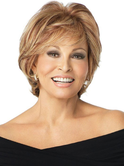 Applause by Raquel Welch: Color R29S+ Glazed Strawberry (Strawberry Blonde with Pale Blonde highlights)