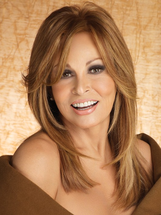 Bravo by Raquel Welch: Color R3025S+ Glazed Cinnamon	 (Medium Reddish Brown with Ginger hightlights)