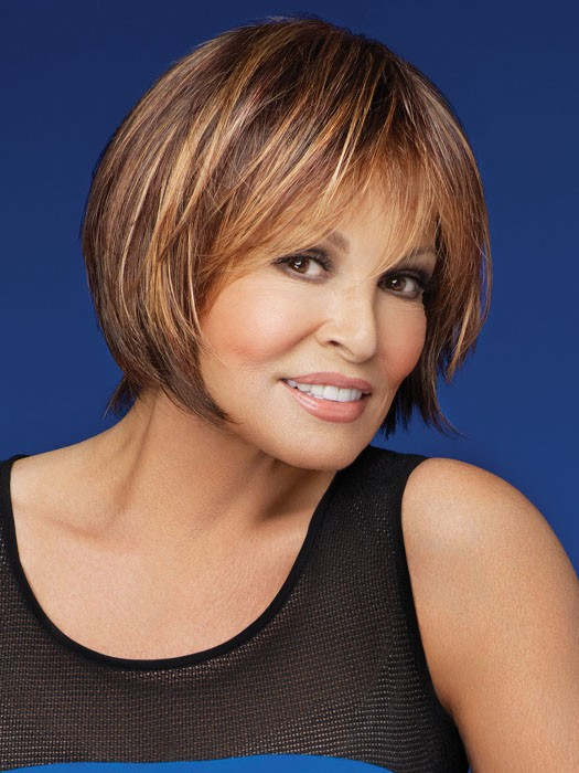 Muse by Raquel Welch: Color R829S+ Glazed Hazelnut (Medium Brown with Ginger highlights)