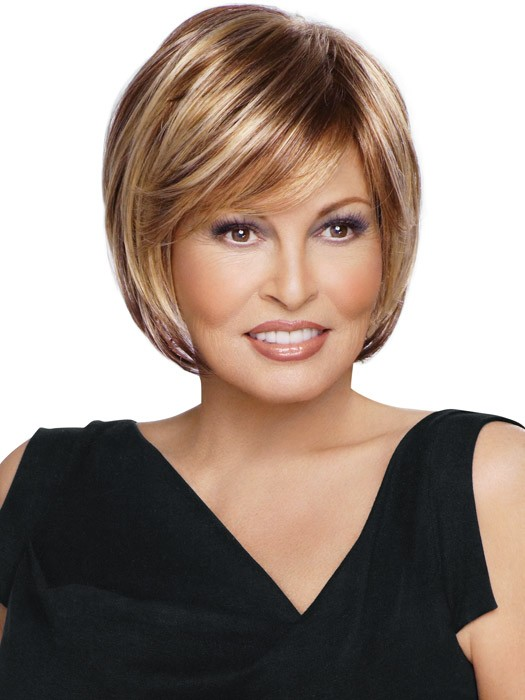 Swept Away by Raquel Welch: Color R29S Glazed Strawberry (Strawberry Blonde with Pale Blonde highlights)