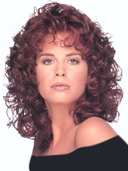 Aspen Wigs Gabriella Wig | Shoulder Length Synthetic Curly Wig