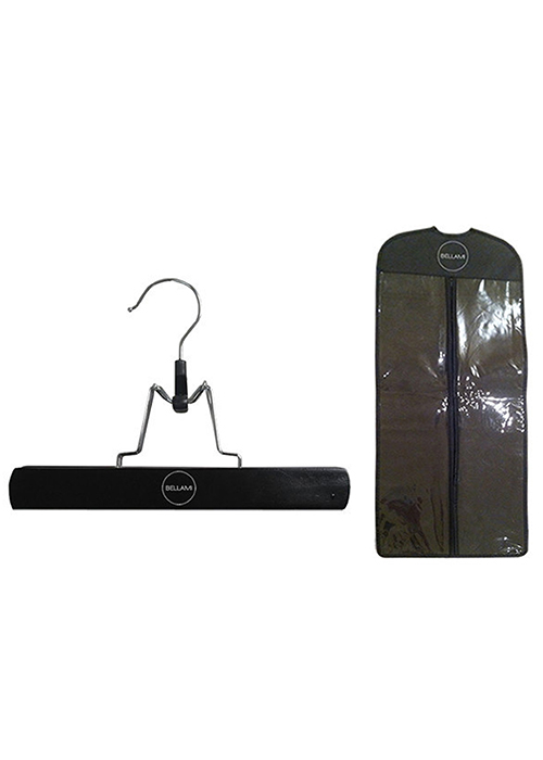 Extension Carrier and Hanger by Bellami | Color: Black With Silver Handle