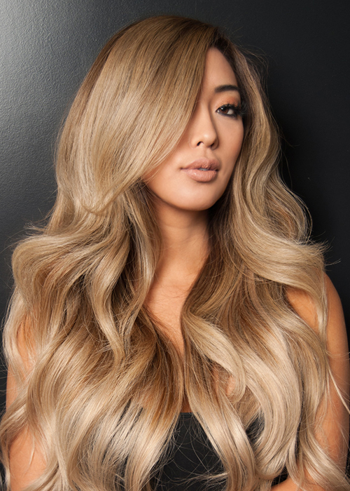 Guy Tang Balayage 20 Inch by Bellami | Color: 4/18