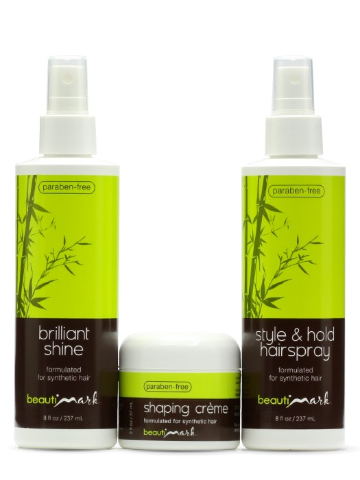 Styling Trio for Synthetic Hair