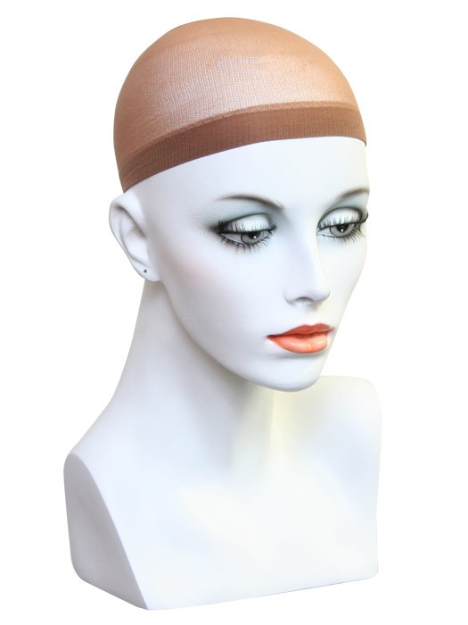 Nylon Wig Cap by Beautimark: Color Brown/Nude