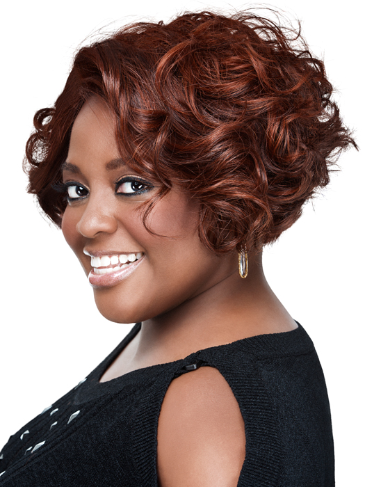 Curled Bob by Sherri Shepherd NOW | Color: DA021