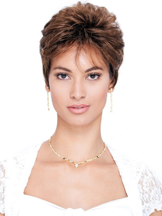 Estetica Designs Wigs Robin Wig : Pixie Cut | Color R6LF29
