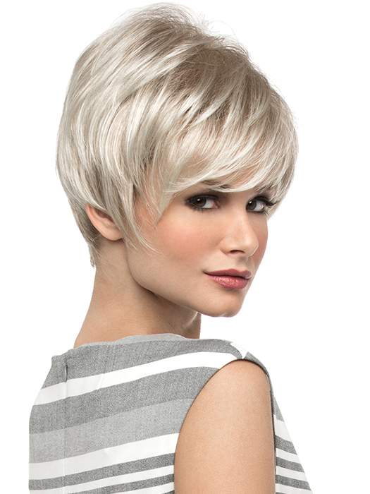 A fashion forward layered shag style. | Color: Dark Blonde