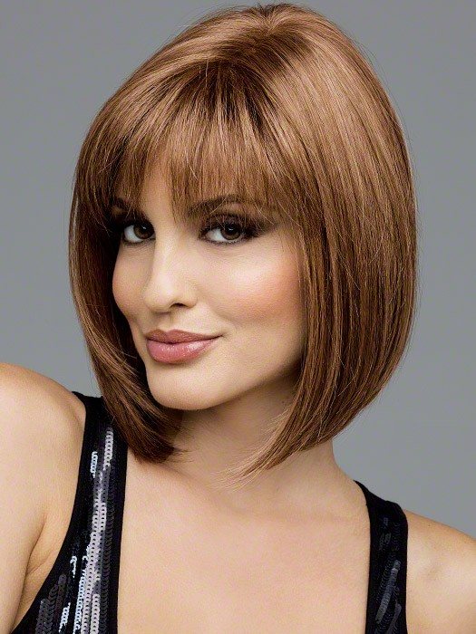 Carley by Envy Wigs : Color Light Brown (2 tone color with Light Golden brown and dark blonde highlights)