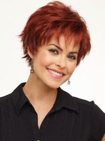 Color Dark Red (33 base with color 32 highlights - dark auburn with brighter red highlights)
