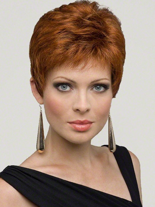 Envy Wigs Jeannie Wig : Lace Front | Color LIGHTER RED