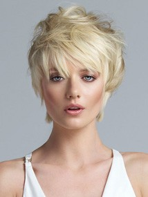 Short Top Extension by HOW: Color 160 (Platinum Blonde)