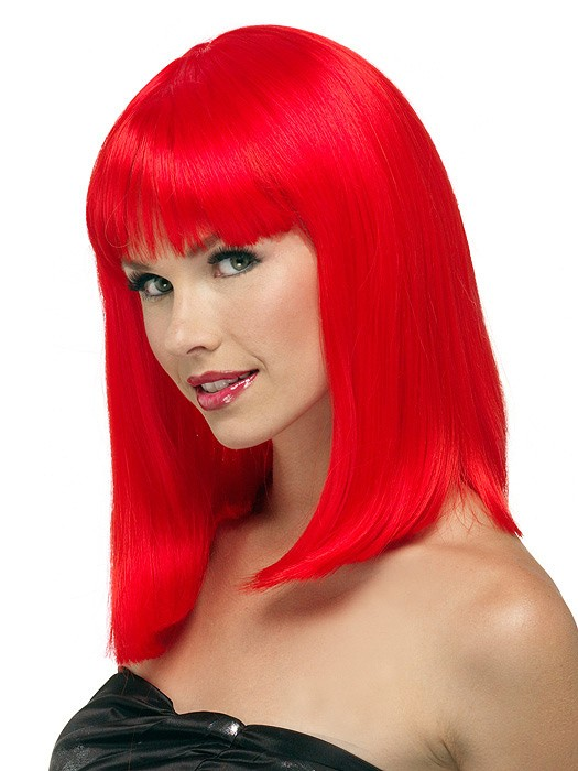 China Doll Long by Jon Renau: Color Red