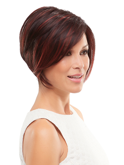 Dark Red with Cherry Red Highlights | Color: FS2V/31V- Chocolate Cherry