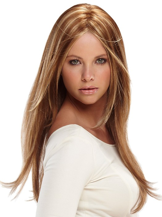 Zara Large: Color FS26/31 - Caramel Syrup (Amber Red w/ Caramel Blonde Highlights)