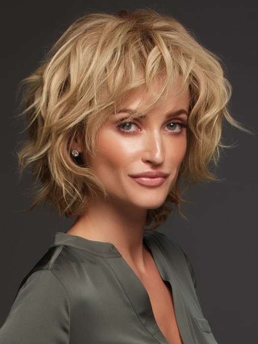 Sophia Exclusive Colors by Jon Renau | Curl away from face and pull the curl to loosen | Color: 12FS8