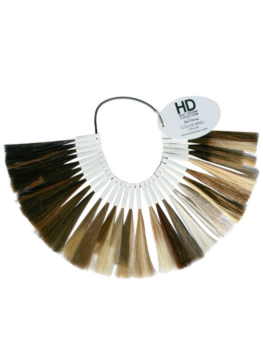Jon Renau Heat Friendly (Heat Defiant) Synthetic Hair Color Ring