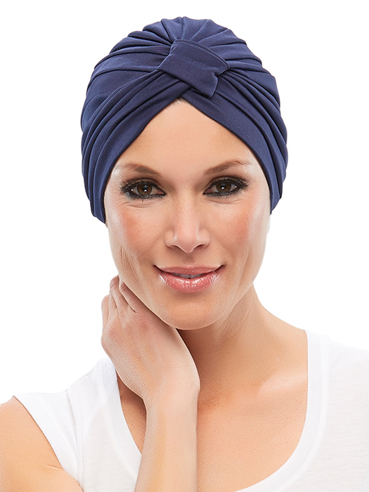 Gloria Turban by Jon Renau | Color: Navy
