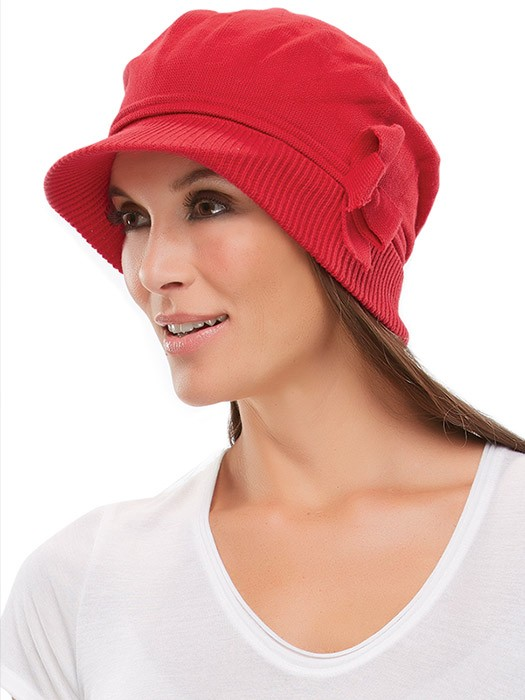 Bow Cap by Jon Renau | Color Red