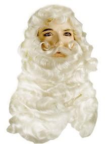 Santa w/ Handmade Mustache