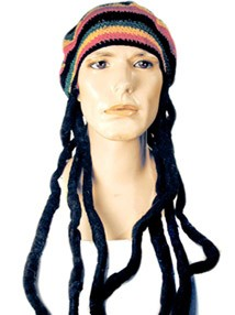 Hat with Dreads