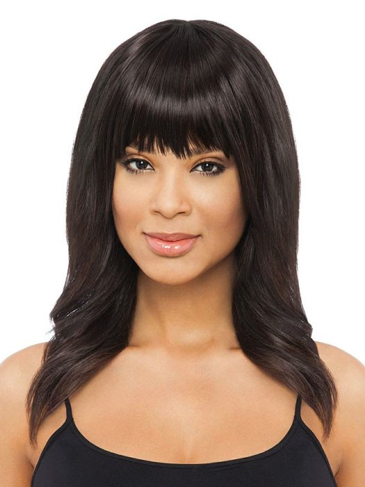 NOW Clip-in Bangs by Sherri Shepherd | Color 1B