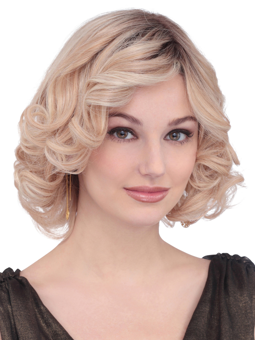 PLF006HM by Louis Ferre | Color: Ginger Blonde Twist Root