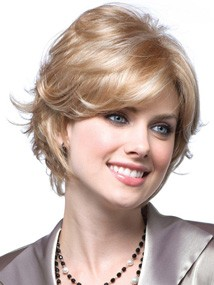 Brooke Wig by Noriko: Color Chai-Cream | Monofilament