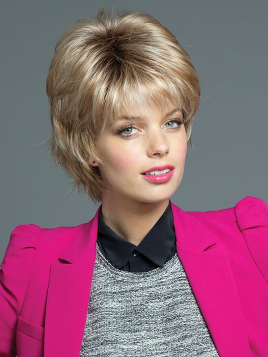 Noriko Wigs Nori: Short Synthetic Wig | Color Sugar-Cane-R