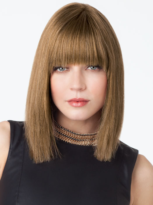 Blair 100% Remi Human Hair Wig by Amore: Color A246 (Style altered for photo shoot)