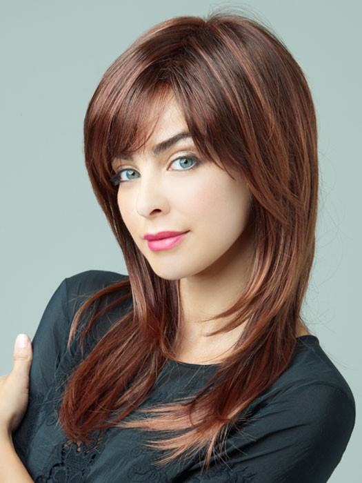 Revlon Wigs Serena Wig : Capless | Color 33/32C (Cherry Cola)