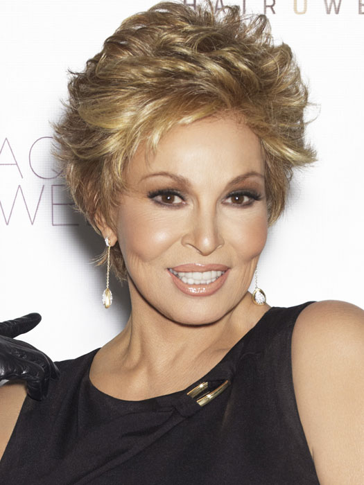 Dazzle in the Center Stage by Raquel Welch | Color R14/25 Honey Ginger (Dark golden blonde with light gold highlights)