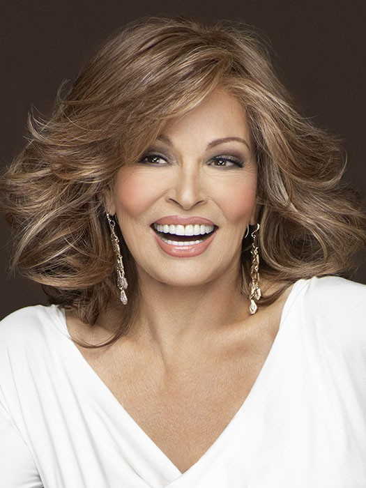 Goddess by Raquel Welch: Color RL30/27 Rusty Auburn (Pale Red with Warm Blonde highlights)