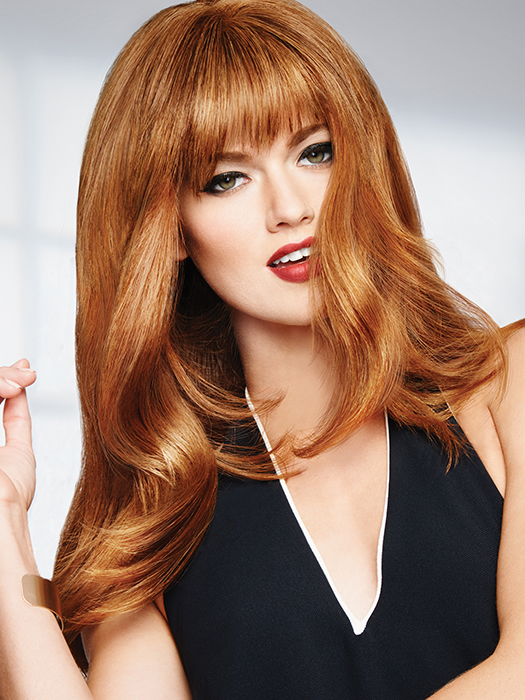 Human Hair Bang by Raquel Welch | Color: R25