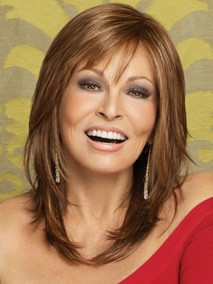 Star Quality by Raquel Welch: Color R3025S+ Glazed Cinnamon (Medium Reddish Brown with Ginger hightlights)