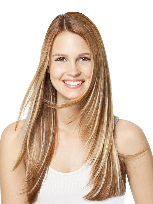 Go with a lighter color for peek-a-boo highlights