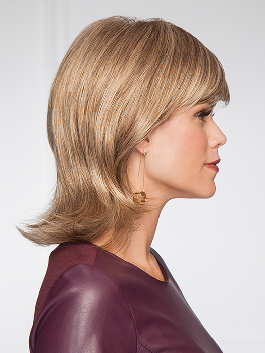 Should length cut with full bang and face-framing sides | Color: GL15/26