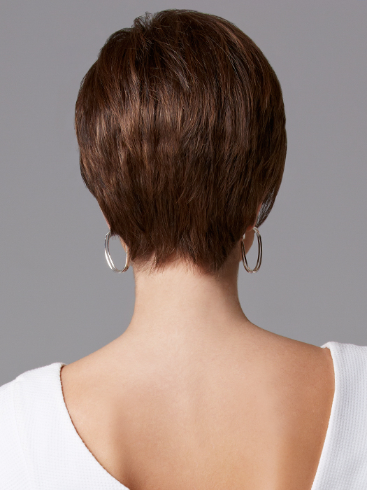 Gabor Distinction Large Wig - Back View