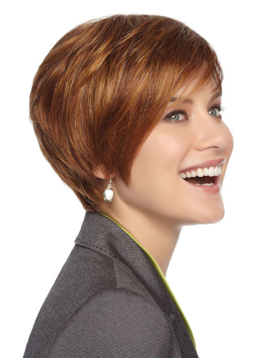 First Rate Petite Wig by Gabor Wigs : Profile View | Color GL29/31